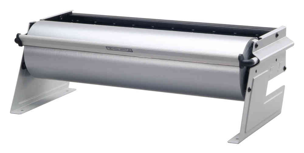 Papierabroller Folienabroller Senkrechtabroller gezahnte Schiene 30-100cm