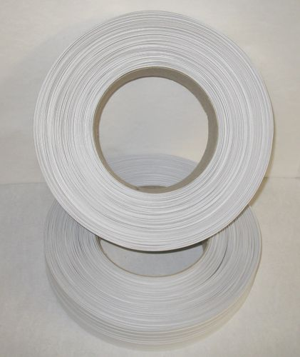 Papier-Clipband Rolle 2/6 - 600 m - weiss