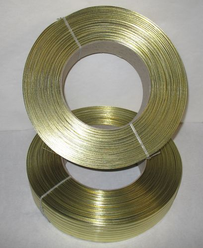 Papier-Clipband Rolle 2/6 - 600 m - gold